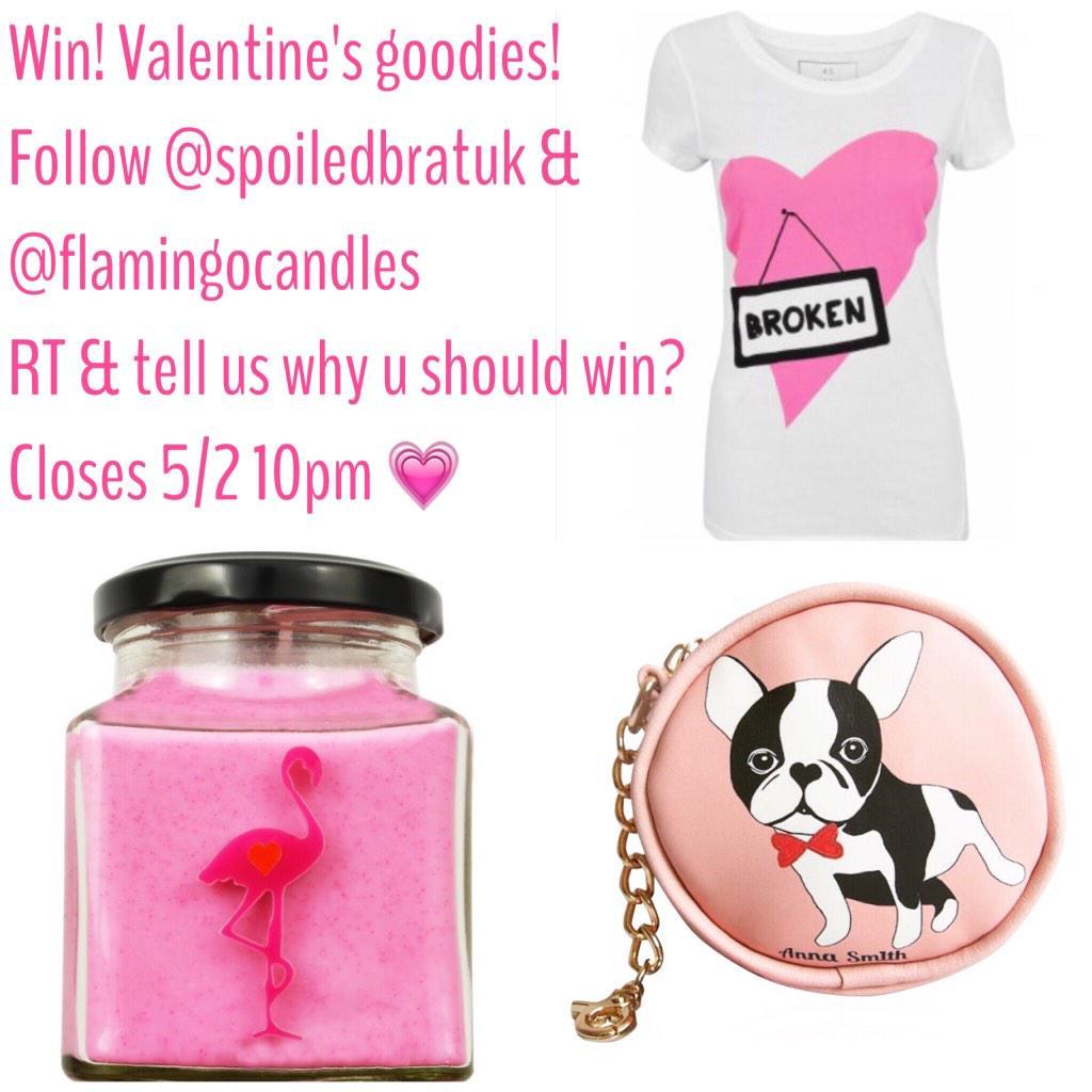 #win these #valentinesgoodies keep RT winner picked 10pm tonight