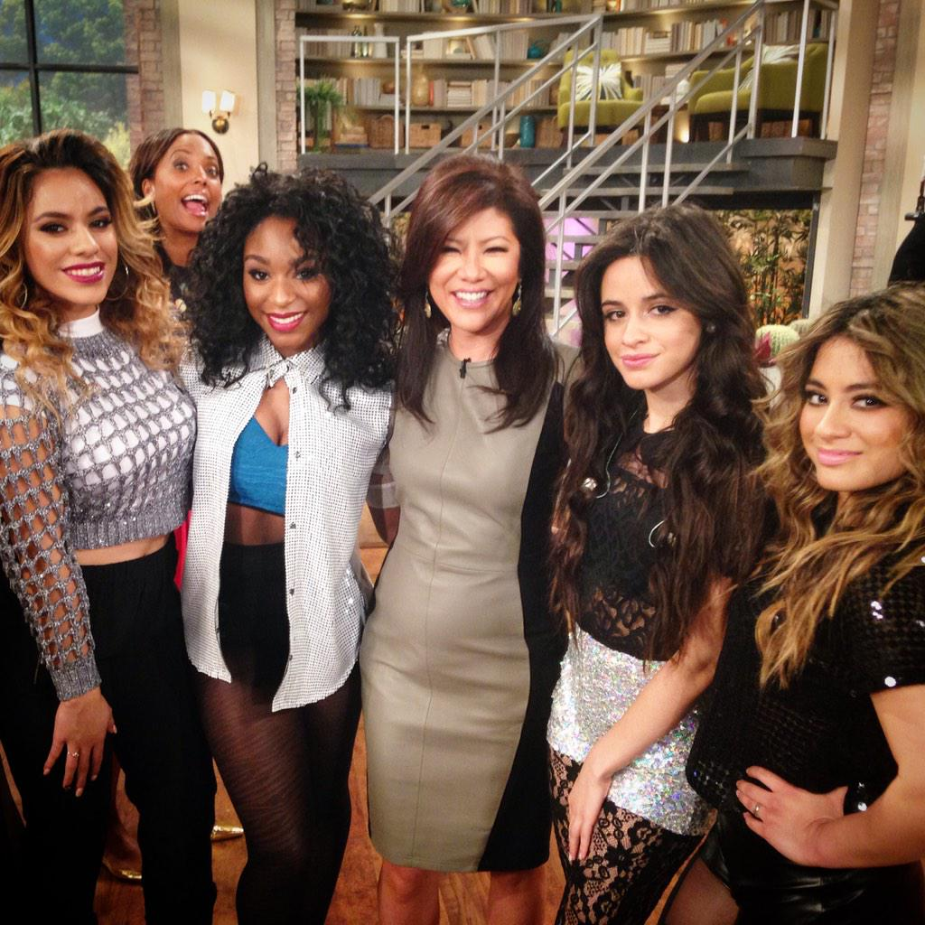 the fabulous ladies of @FifthHarmony #5HonTheTalk http://t.co/GxK1ZPpPh7