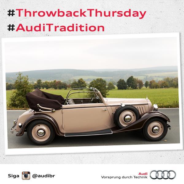 #ThrowbackThursday: Audi Front 225 Para acompanhar a história da Audi, siga a gente no @instagram http://t.co/TLQMWeFAaT