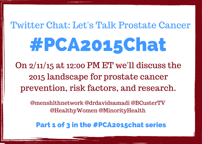 Thumbnail for Prostate Cancer Chat #PCA2015Chat