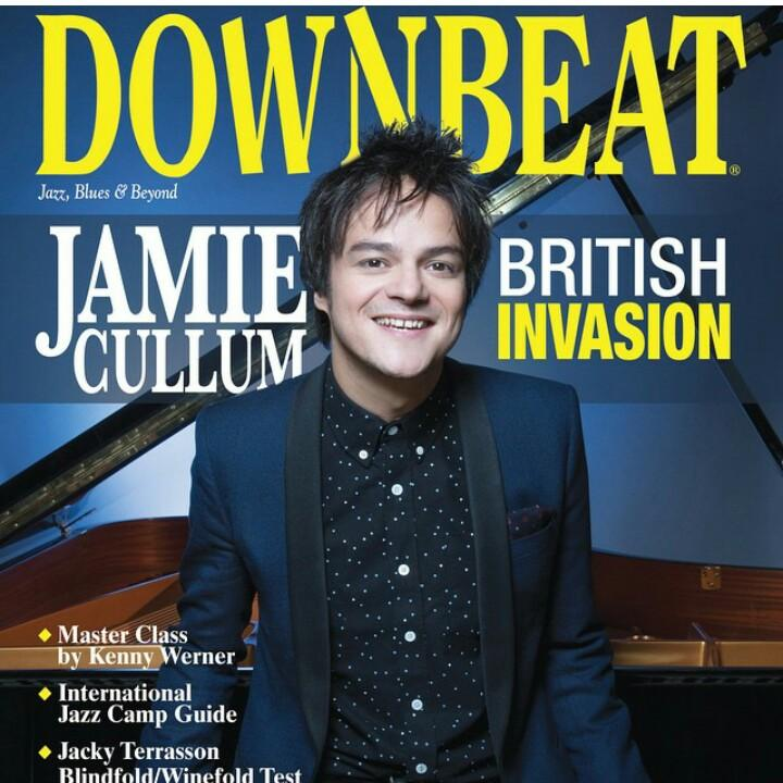 Look who's on the front cover of the March issue of @DownBeatMag! @jamiecullum #Interlude http://t.co/Hz1S9p5rR2