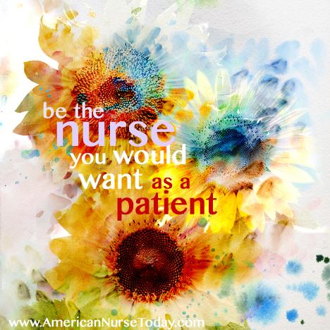 why you want to be a nurse