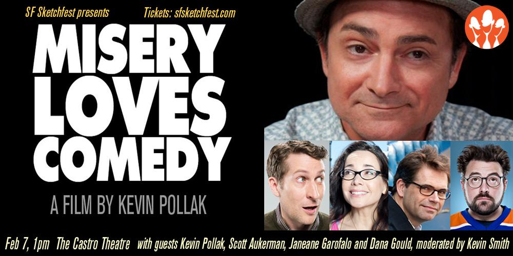 Clerks! Chasing Amy! Dogma! @ThatKevinSmith chats #miserylovescomedy, movies w/ @kevinpollak. http://t.co/L3ET8E2Qre http://t.co/wRsXv2bbY7