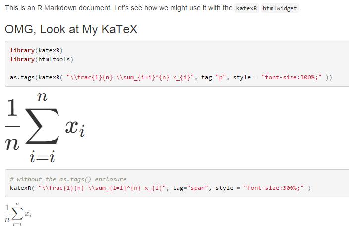 katex hashtag on Twitter