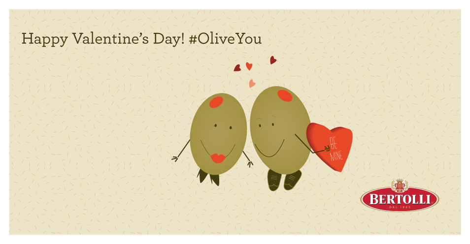 Happy #ValentinesDay! Don't forget to say #OliveYou today. http://t.co/tweEgE6Mqt