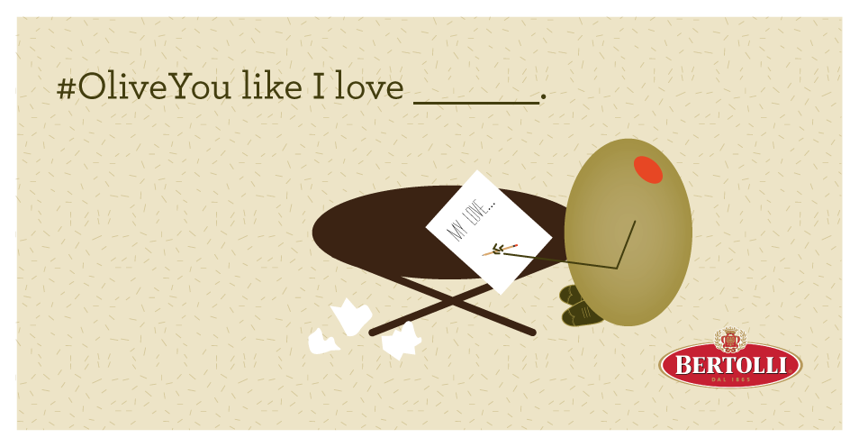 We want to know… what do you love? #OliveYou http://t.co/e7dqbgat4c