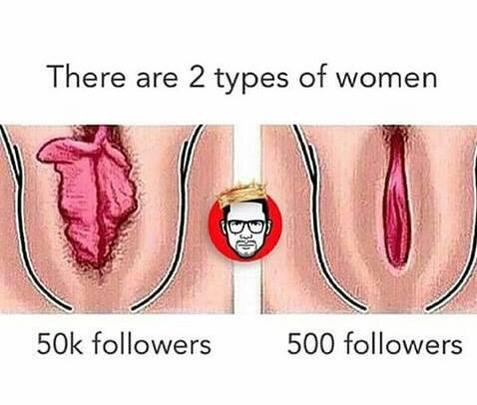 🧢 on Twitter: I kno 500 follower hoes with 50k followers