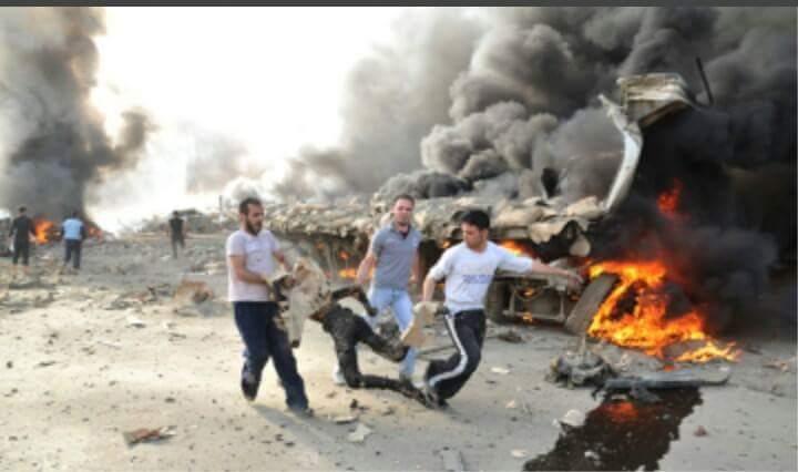 """""""@EmanAlhariri1: هذا مايخلفه قصف طائرات السفاح الأسد على شعبه ..  #GetRidofAssad http://t.co/JGGI7nql9z"""""""