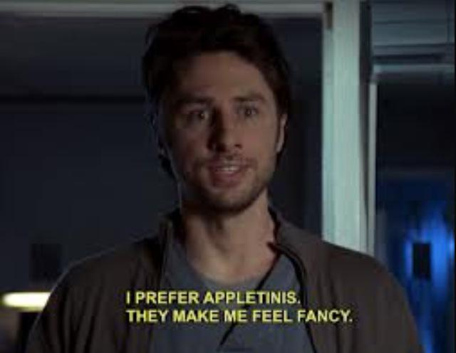 Scrubs Quotes On Twitter I Prefer Appletinis They Make Me Feel