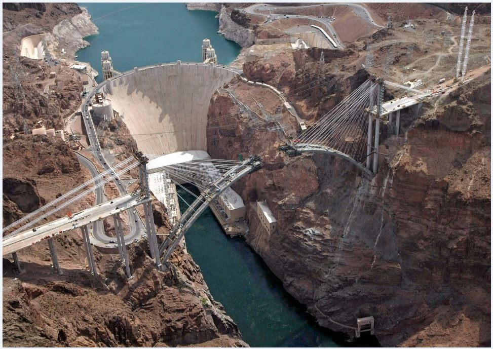 Arizona Dot On Twitter Tbt To 2009 When Mike O Callaghan Pat Tillman Memorial Bridge Was Under Construction At Hoover Dam Cc Nevadadot
