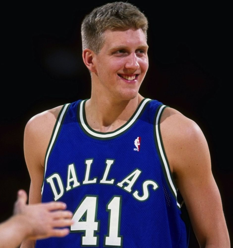 27,643 pts later RT @Tri_Offense: Dirk Nowitzki made his NBA debut 16 yrs ago tonight. He was 0-5 FG & scored 2 pts. http://t.co/BwkROBkGhu