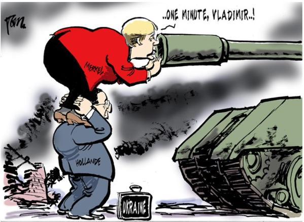Рассчитывать на внезапный прорыв в урегулировании конфликта на Донбассе не следует, - Министр обороны ФРГ - Цензор.НЕТ 2529