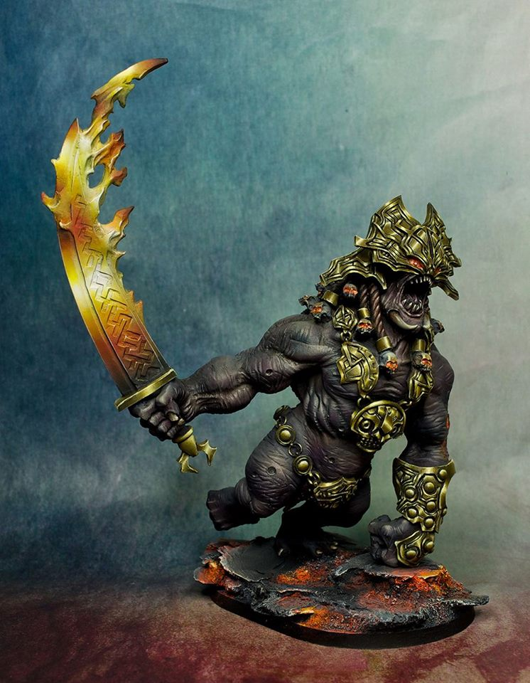 fire giant miniature - photo #14