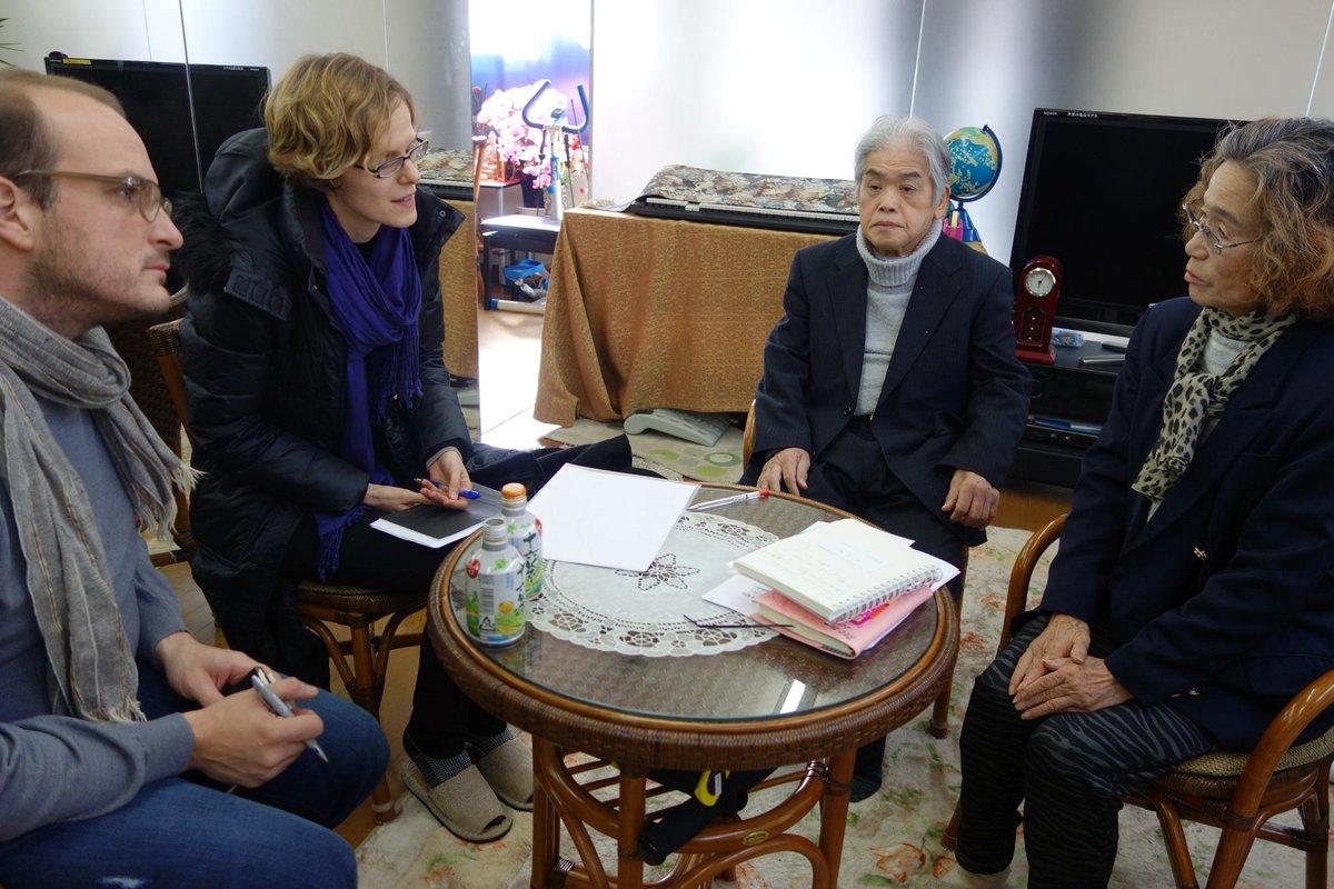 本日、小金井市内で故・後藤健二さんの母親・石堂順子さんがドイツ最有力誌の単独インタビューに応じた。ドイツ人記者は安倍内閣が現時点まで弔意を示す連絡を母親に入れていない事実に絶句した。メリケル首相なら真っ先に駆けつけるに違いない。 http://t.co/8UsBE9BMpA