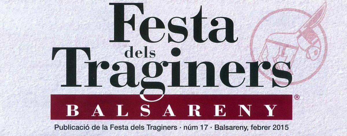 Suma't a la festa de #ELSTRAGINERS de #Balsareny, fem de la teva visita un record únic.
