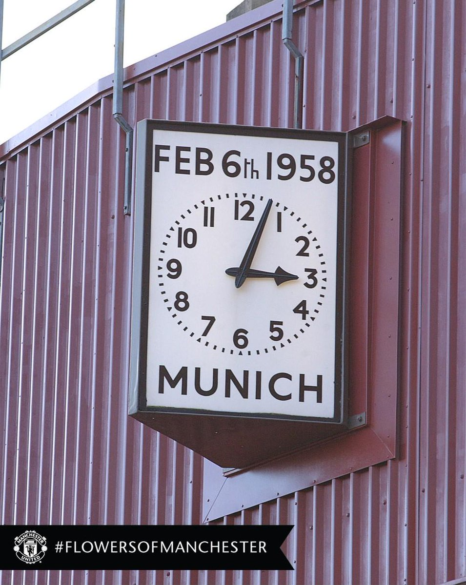 Supporters will gather on the OT forecourt today at 3pm to remember those who died at Munich. #flowersofmanchester http://t.co/RAkiIBTcXm
