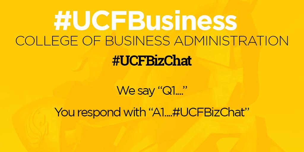 Never done a #UCFBizChat before? Here's how it works -  #UCFBusiness http://t.co/3wdq16zAN3