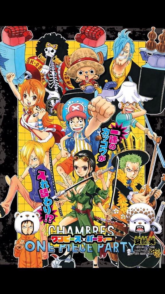 Chambres One Piece Party Onepiece