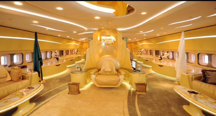 Bbg billionaires on twitter here 39 s the inside of prince for Grandi jet privati in cabina