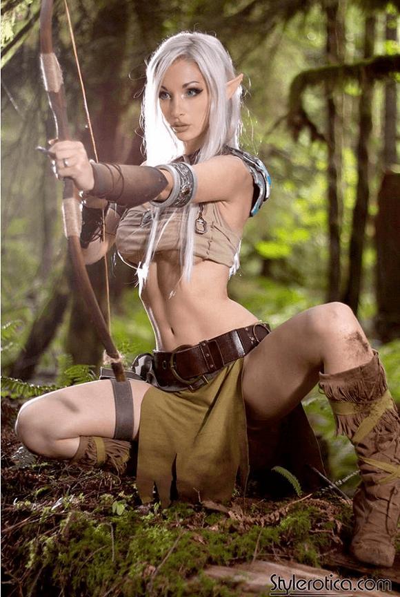 Natural Naked Women Elves 86