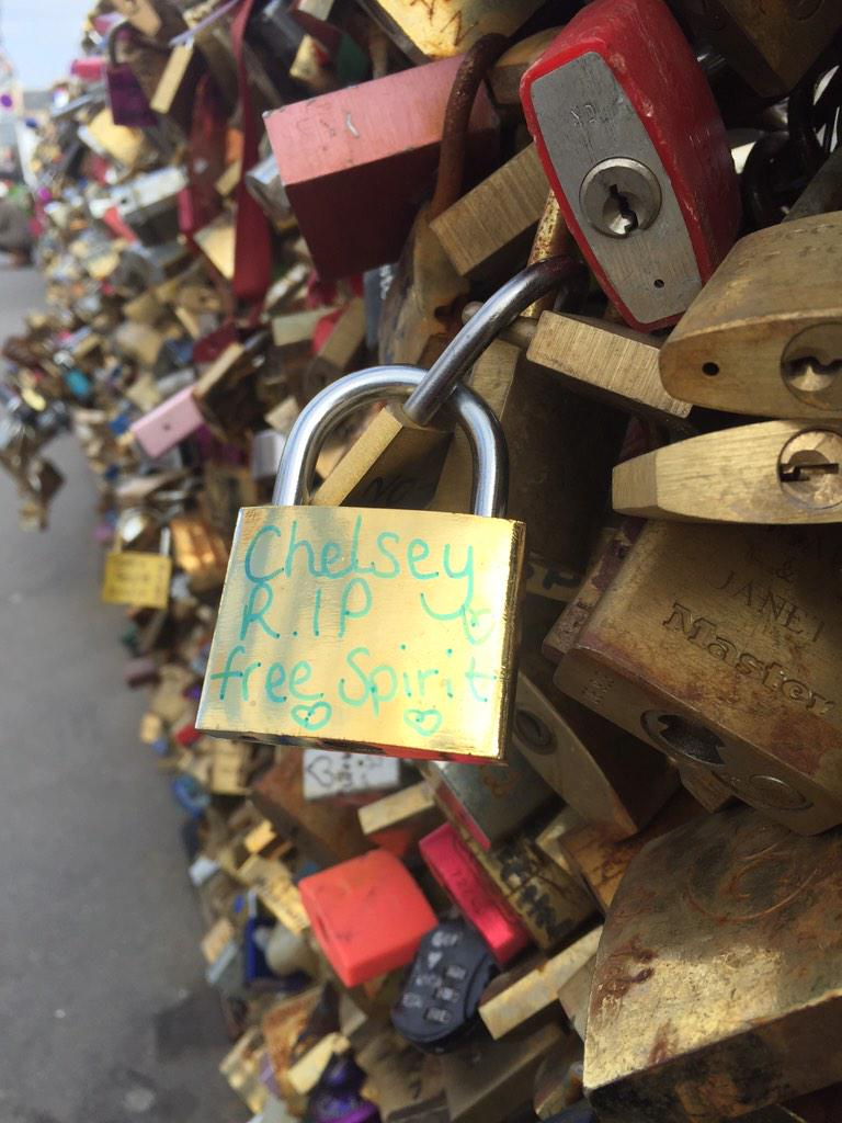 @ChelseySharp there you go beautiful! A place in Paris for you. RIP darling