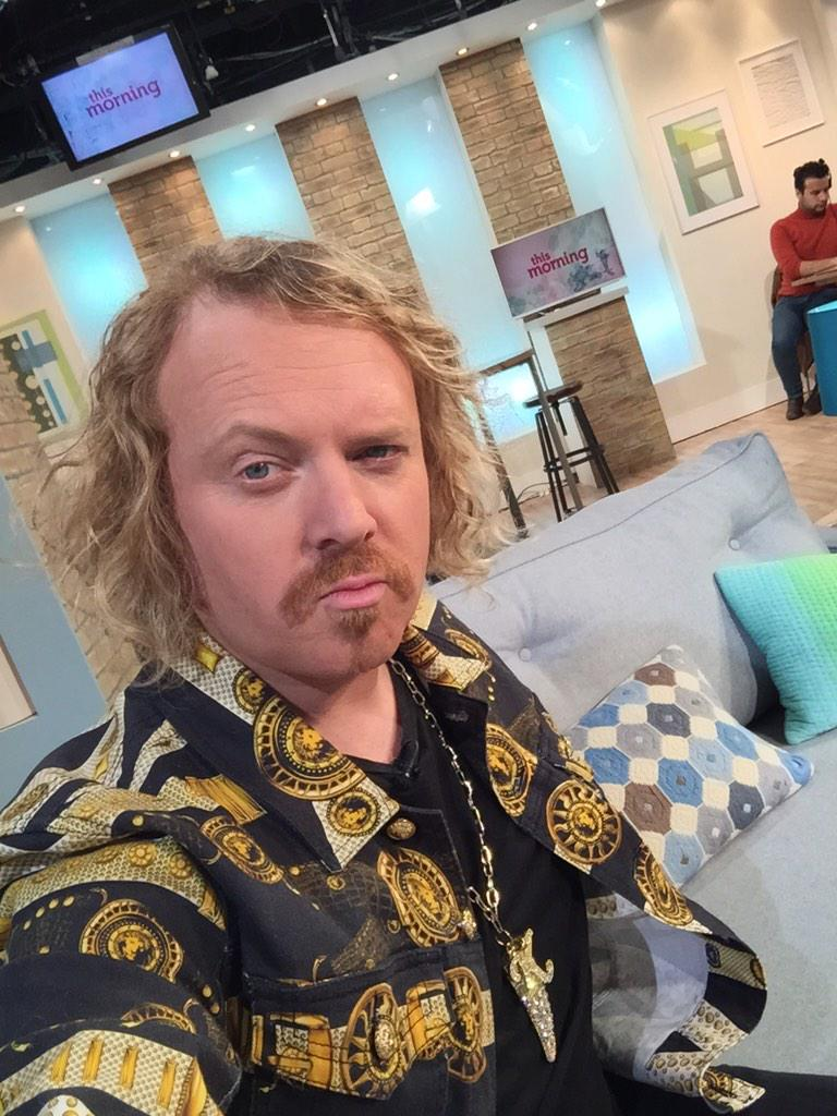 Looking a bit tired on This Morning yesterday http://t.co/Lv7fv4ztHj