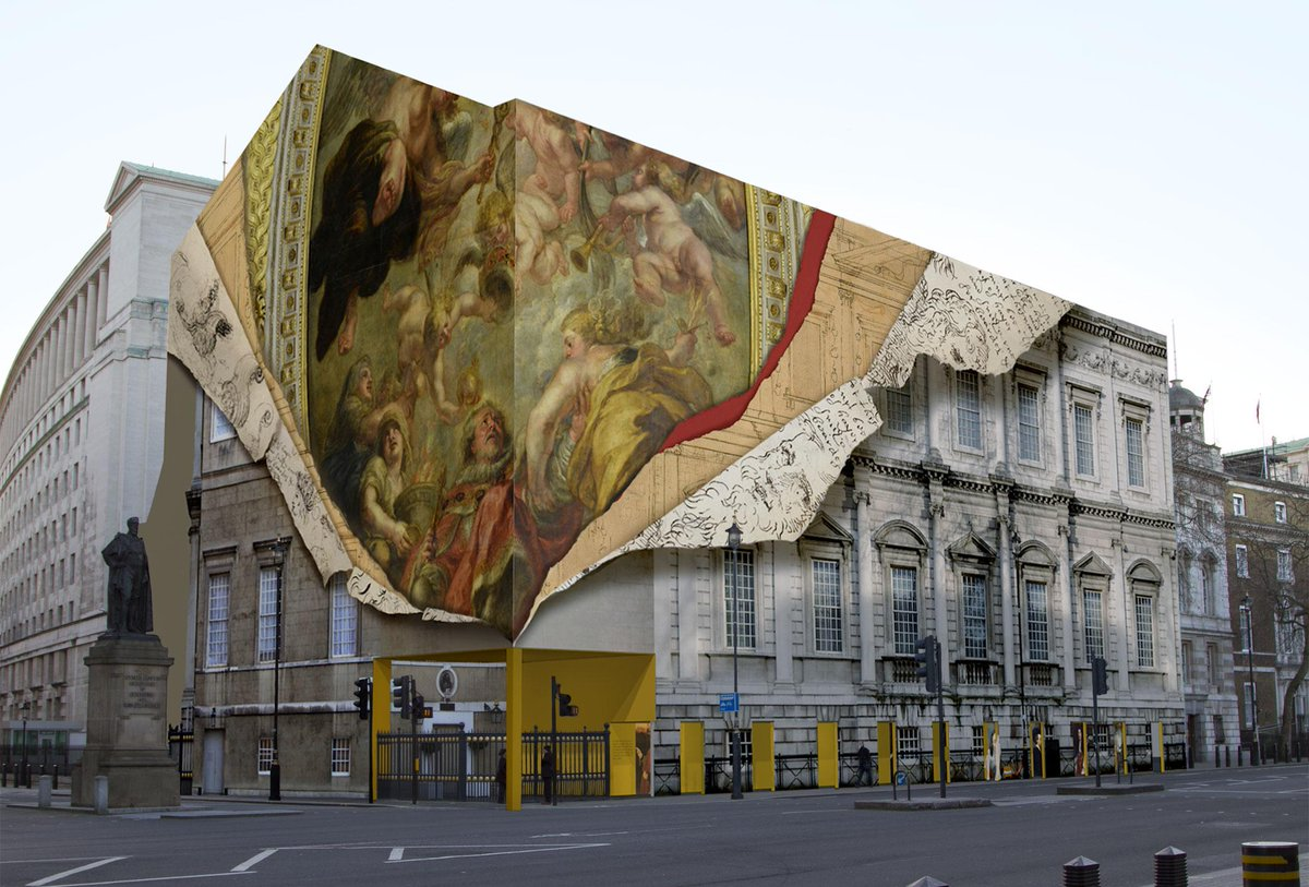 London building to get super-cool trompe l'oeil wrap revealing history, via @Design_Week: : http://t.co/a1q4WFpRg8 http://t.co/R1ZjIko4wY