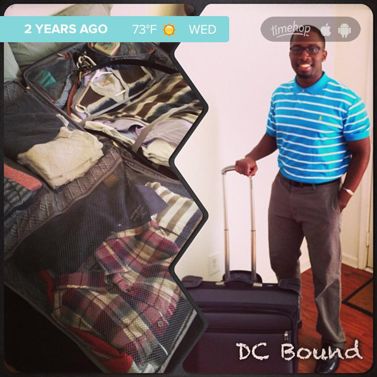 Exactly 2 years ago today I was headed to DC! #thereup #tapia2015 http://t.co/x3Vtq9vJh7 http://t.co/p5pBc1E5Rm