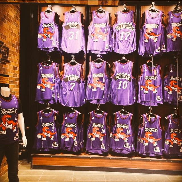 Isn't this a beautiful sight @Raptors fans? RT if you're loving the purple. #PurpleMeetsPresent http://t.co/50XcHpsnOG