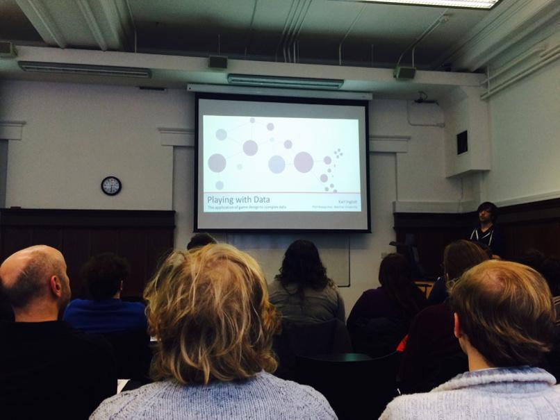 Karl Inglott presenting at #gamethink in Glasgow http://t.co/dskkyYowA1