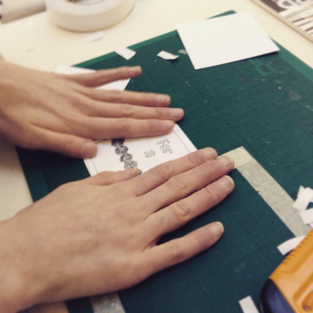 Making some things to send! #desent15 http://t.co/7uajBIq2aJ