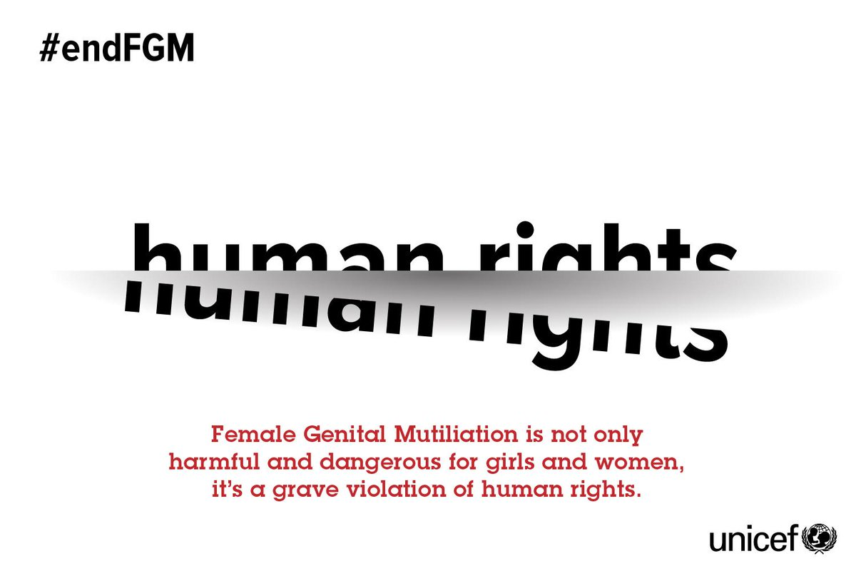 FGM: an internationally recognized human rights issue