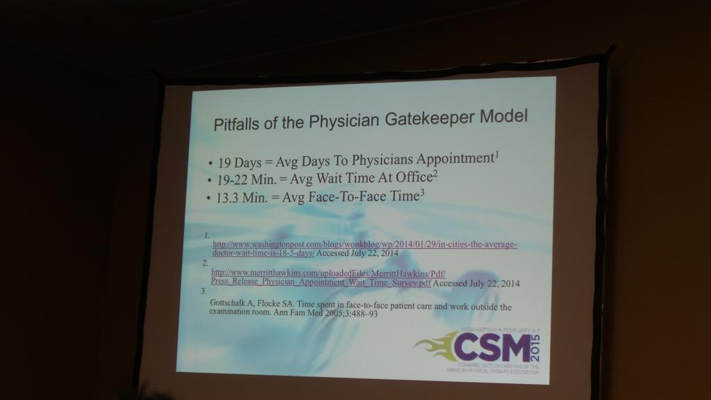 This will be worse with upcoming, even now, physician shortage #skipMDs #aptacsm http://t.co/j2pQgCMiEm