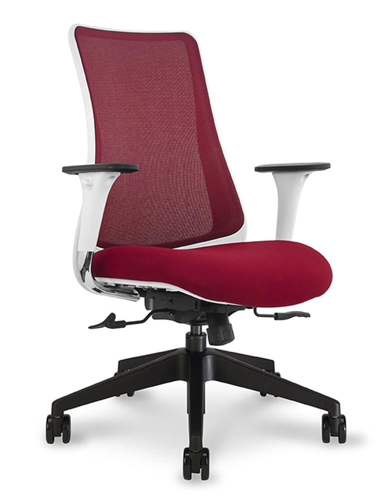 Height Adjustable Black Porthos Home Tfc001a Blk Lennon Comfortable Executive Wheels Retro Style Modern Office Chair Size 24 X 27 X 40 Ergonomic Stylish With Armrests Home Office Desk Chairs