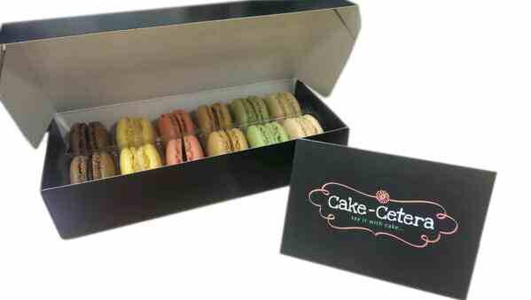 Scrummy #frenchmacarons by @CakeCetera RT and follow us both and these could be arriving at your door next week #yum http://t.co/AOZnGVHILp
