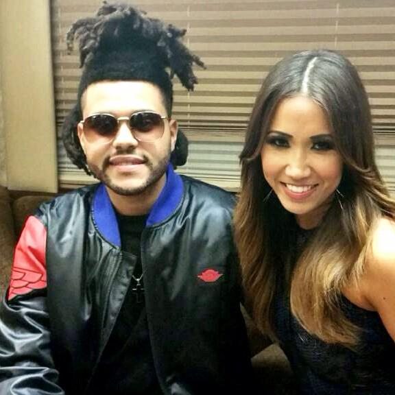 I sat down w/ @theweeknd for a rare interview w/ @RollingStone #GooglePlay b4 his performance last nt. See it soon!
