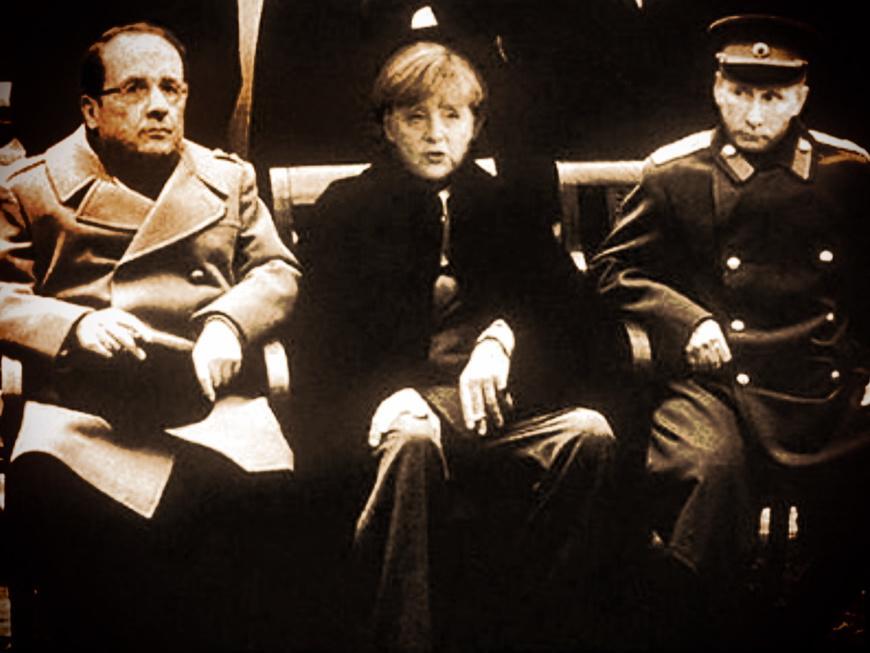 Олланд и Меркель по телефону обсудили с Путиным ситуацию с урегулированием конфликта на Донбассе - Цензор.НЕТ 161
