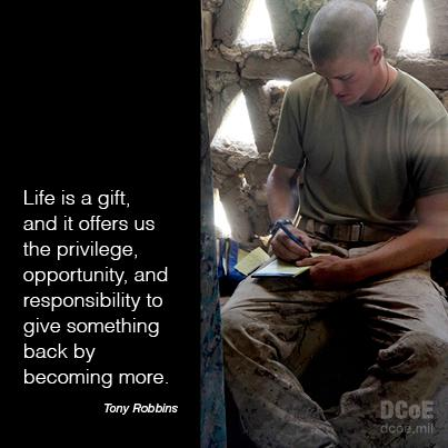 Life is a gift! Thank you to all who risk their lives for our country. We salute you and thank you. http://t.co/pbDJHlRp6E