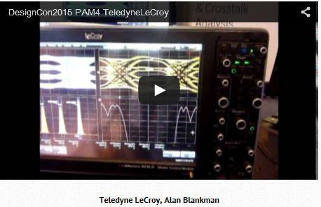 Teledyne lecroy on twitter oscilloscope makers demonstrate pam4 255 pm 6 feb 2015 ccuart Gallery