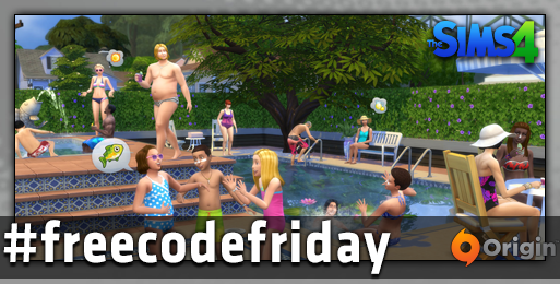 Last chance to win @TheSims 4 in #freecodefriday.  FOLLOW & RT by 4:30pm PST for a chance to win! http://t.co/EsVvf4zuwR