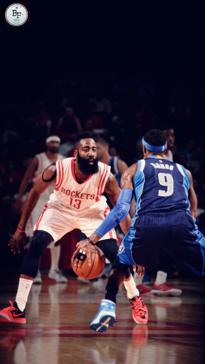 Basketball forever on twitter james harden vs rajon - James harden iphone wallpaper ...