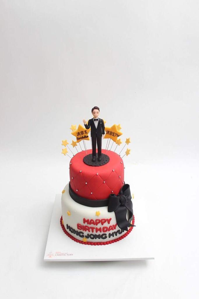 INDONESIA on Twitter Birthday Cake From Hong Jong Hyun