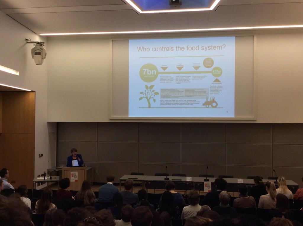 Political economy of food system by Dame Barbara Stocking #CCSF2015 http://t.co/GL2OFlhazx