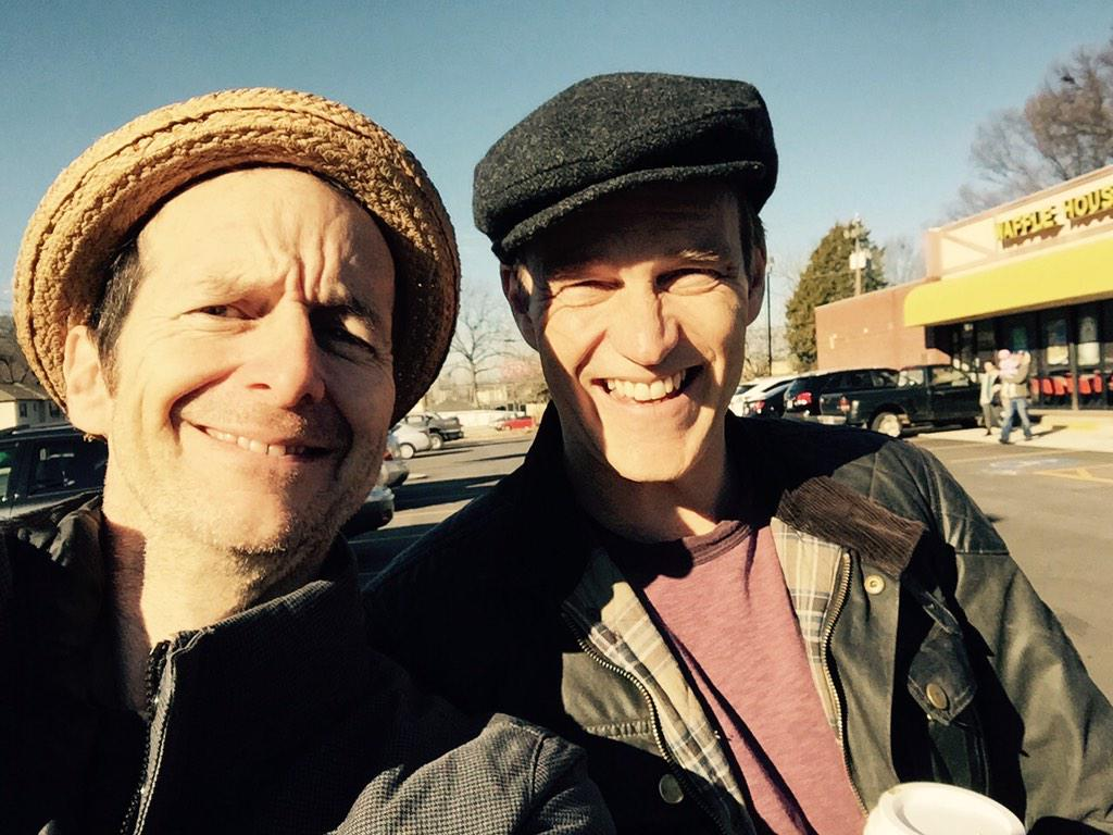 On location scout with a vampire...@_smoyer #ColumbiaTheMovie