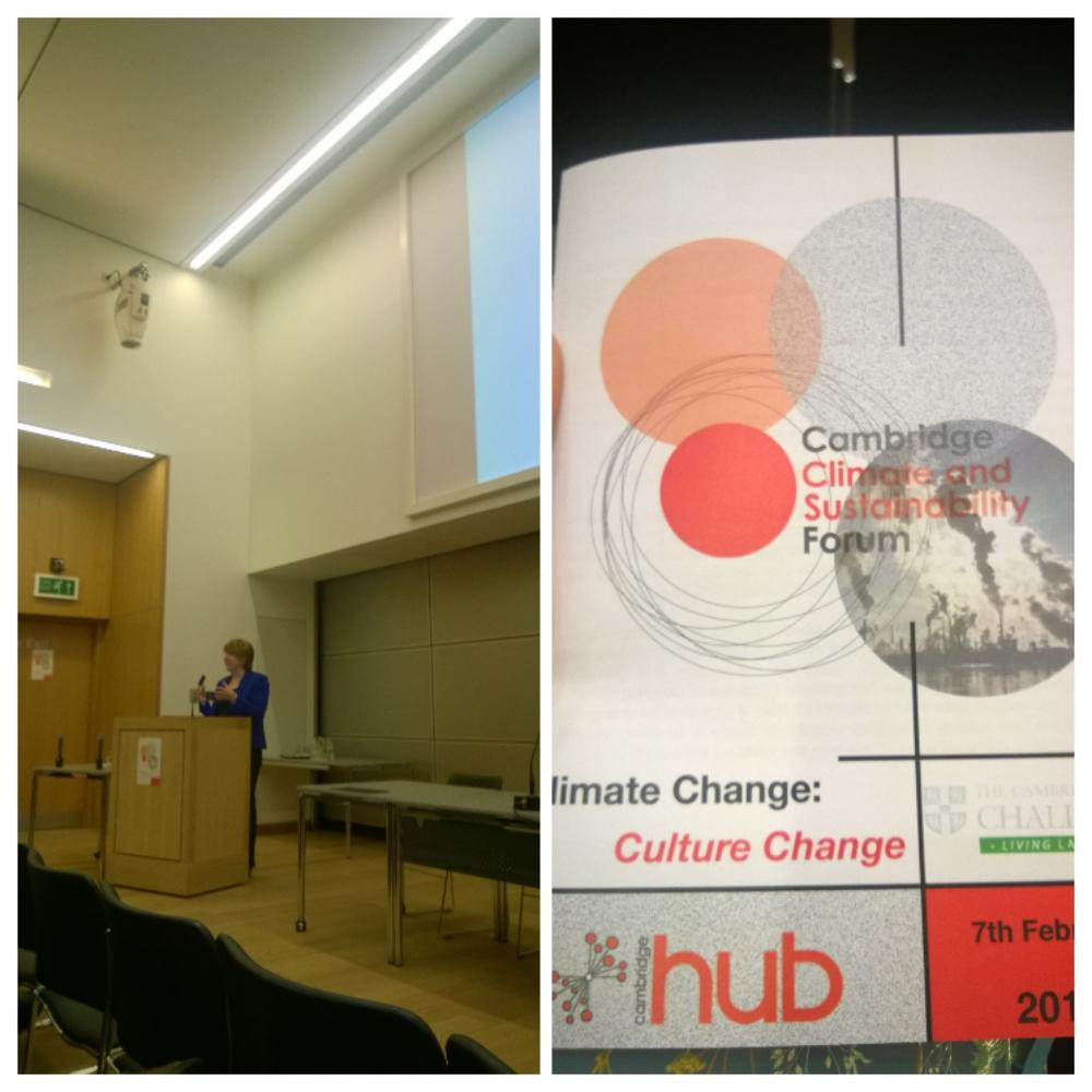 An inspiring keynote by Dame Barbara Stocking on the #politics of #food #security #ccsf2015 @camclimateforum http://t.co/5OyulCd1VW