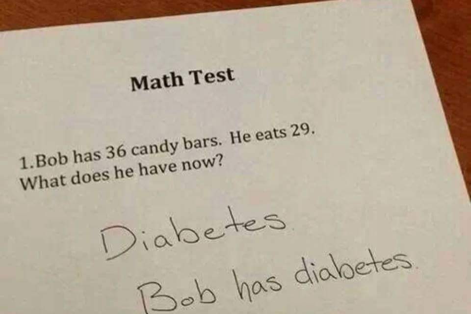 Bob has 36 candy bars. He eats 29. What does he have now? http://t.co/NM4ccyJaqU
