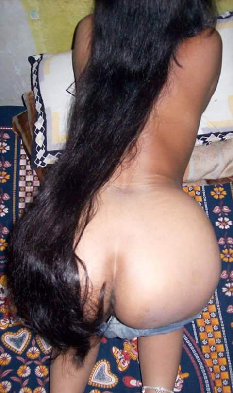 With very hair nude girls long