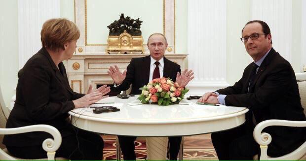 В Москве Меркель и Олланд действовали и от имени ЕС, - глава Европарламента - Цензор.НЕТ 7231