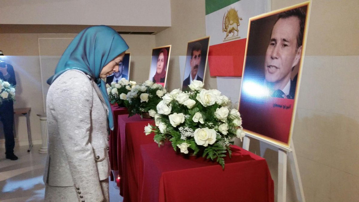 Maryam Rajavi-Paying homage to #Argentina ean judge RIP #AlbertoNisman , who exposed #Iran &#39;s role in AMIA crime<br>http://pic.twitter.com/iqTKoWK7uf