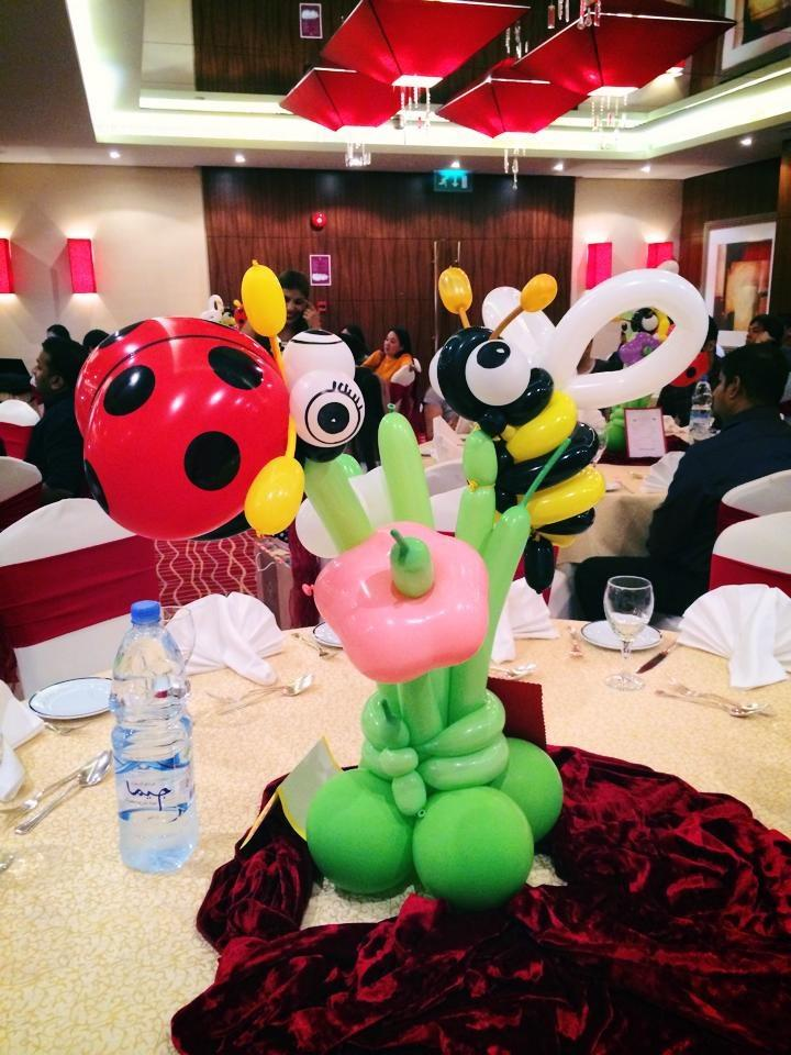 Dubai Balloons Party 24Jan2015 Lady Bug And Honey Bee Theme For The Twins See Details Googl JNbKyk Pictwitter 8PfQz189h4